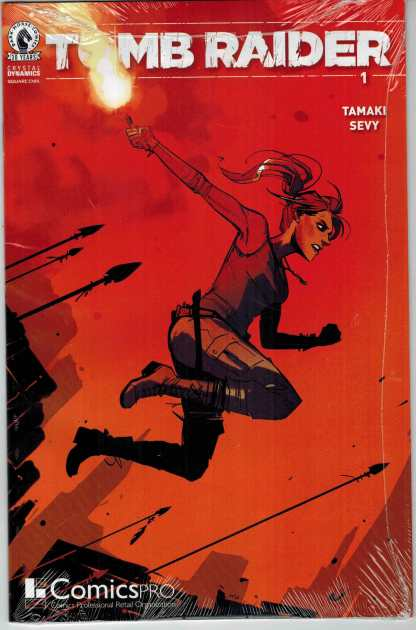 Tomb Raider #1 Comicspro Exclusive Joelle Jones Variant 2016 Dark Horse