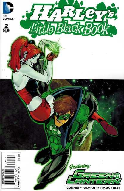 Harley's Little Black Book #2 1:25 John Timms Variant DC Comics Quinn
