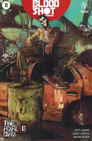 Bloodshot Reborn #11 1:10 Tula Lotay Variant Valiant 2015 Analog Man
