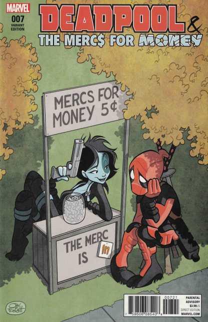 Deadpool Mercs For Money #7 1:25 Jay Fosgitt Variant NOW Marvel 2016 Ongoing