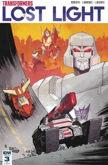 Transformers Lost Light #3 1:10 Retailer Incentive Variant RI IDW 2016