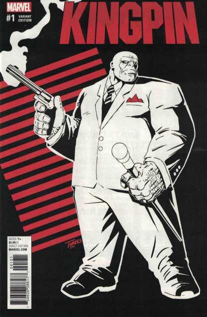 Kingpin #1 1:25 Torres Variant Marvel Now Running with the Devil 2017 Daredevil