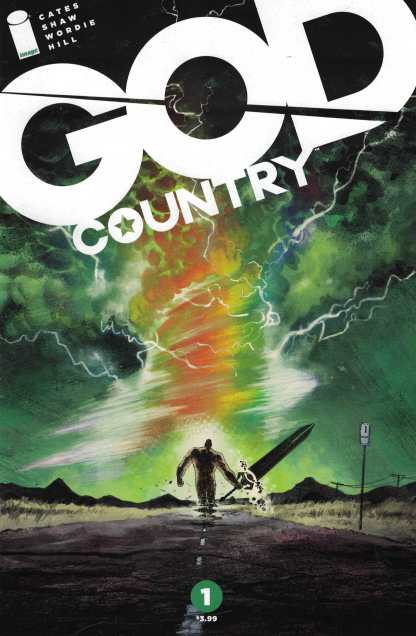 God Country #1 Donny Cates Cover A First Print Image 2017 HTF 1st