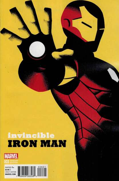 Invincible Iron Man #6 1:20 Michael Cho Variant Marvel ANAD 2015