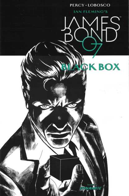 James Bond Black Box #1 1:20 Jason Masters Variant Dynamite 2017 007