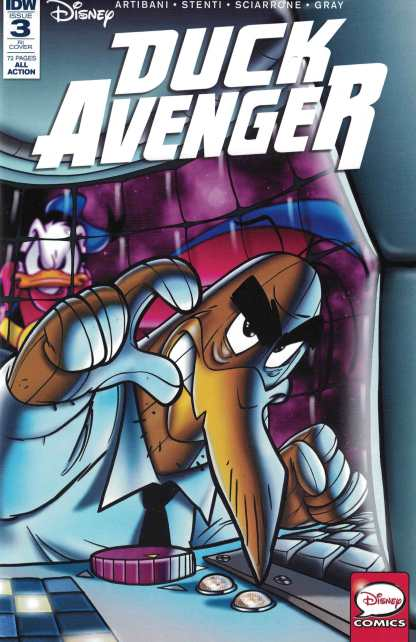 Duck Avenger #3 1:10 Claudio Sciarrone Variant RI IDW Comics 2016