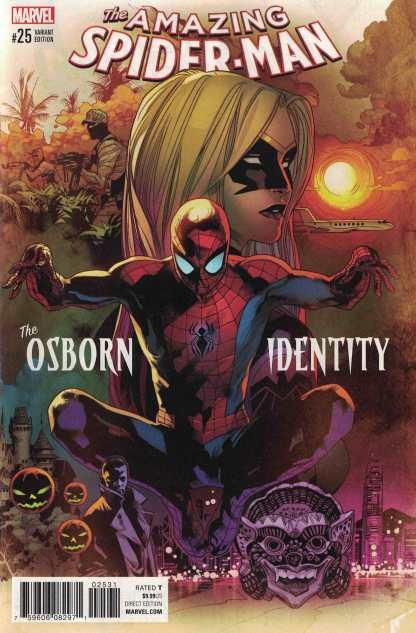 Amazing Spider-Man #25 1:50 Immonen Variant Marvel 2015 ANAD