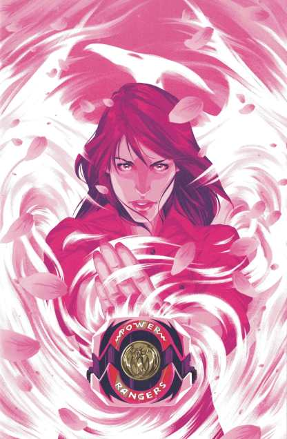 Mighty Morphin Power Rangers #13 1:25 Goni Montes Variant Boom 2016 Pink