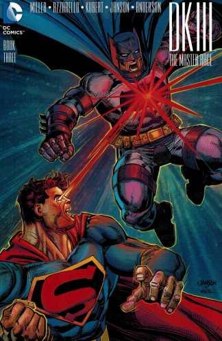 Dark Knight III Master Race #3 1:25 Klaus Janson Variant DK3 Batman 2015 DC