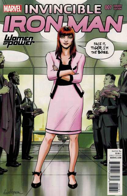 Invincible Iron Man #7 Lopez WOP Women of Power Variant Mary Jane