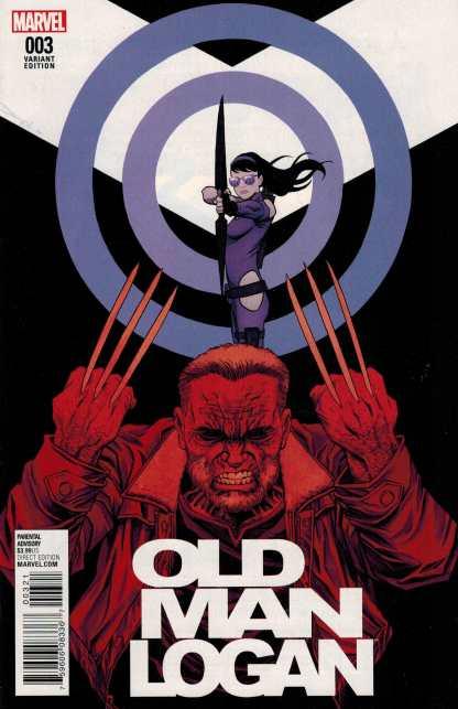 Old Man Logan #3 1:25 Declan Shalvey Variant Marvel ANAD 2016
