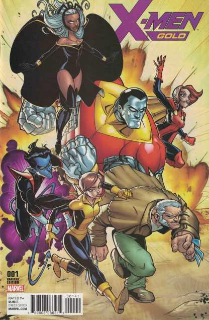 X-Men Gold #1 1:50 Bill Martin Variant Marvel 2017