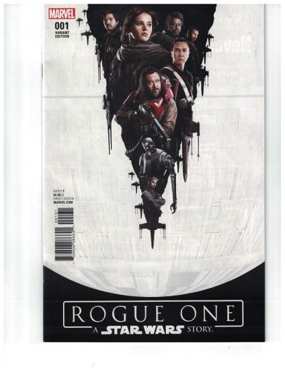 Star Wars Rogue One Adaptation #1 1:15 Movie Variant Marvel 2017