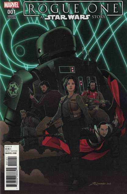 Star Wars Rogue One Adaptation #1 1:10 Quinones Droids Variant Marvel 2017