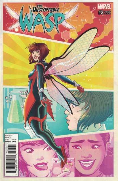Unstoppable Wasp #3 1:25 Paulina Ganucheau Variant Marvel 2017