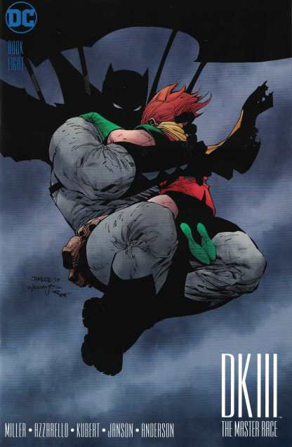 Dark Knight III Master Race #8 1:500 Jim Lee Variant DC HTF
