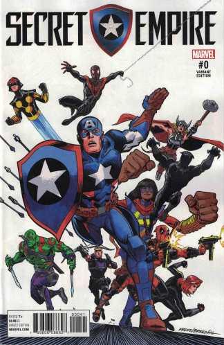 Secret Empire #0 1:20 Ron Frenz Variant Marvel 2017