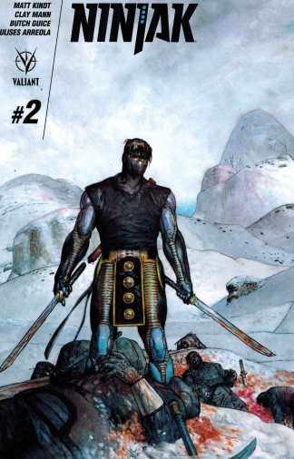 Ninjak #2 1:20 Das Pastoras Variant Valiant 2015