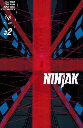 Ninjak #2 1:10 Raul Allen Variant Valiant