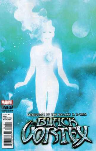 Black Vortex Omega 1:20 Andrea Sorrentino Cosmically Enhanced Variant Marvel