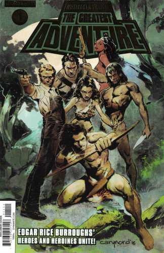 Greatest Adventure #1 C2E2 Comics Pro Gold Foil Variant Dynamite 2017