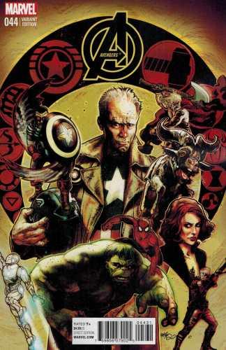 Avengers #44 1:25 Tony Harris Variant TRO Marvel NOW 2012