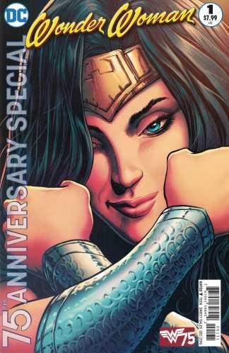 Wonder Woman 75th Anniversary Special Liam Sharp Variant DC