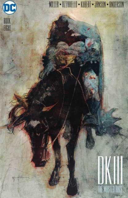 Dark Knight III Master Race #8 1:50 Sienkiewicz Variant DC 2015
