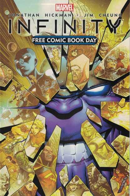 Infinity FCBD Free Comic Book Day Marvel 2013 1st Corvus Glaive of Black Order