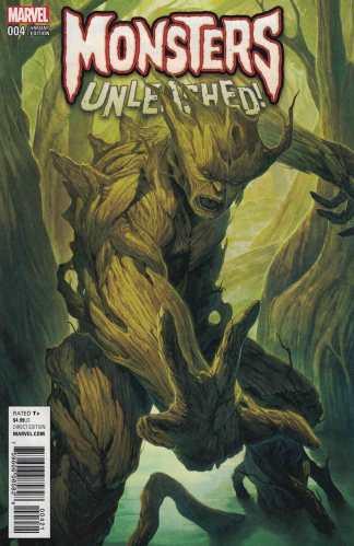 Monsters Unleashed #4 Homare Variant Marvel 2016 Groot