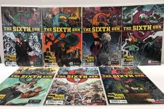 Sixth Gun #1-7 1st Print First Story Arc Complete Set Plus BONUS #7 Oni 2010