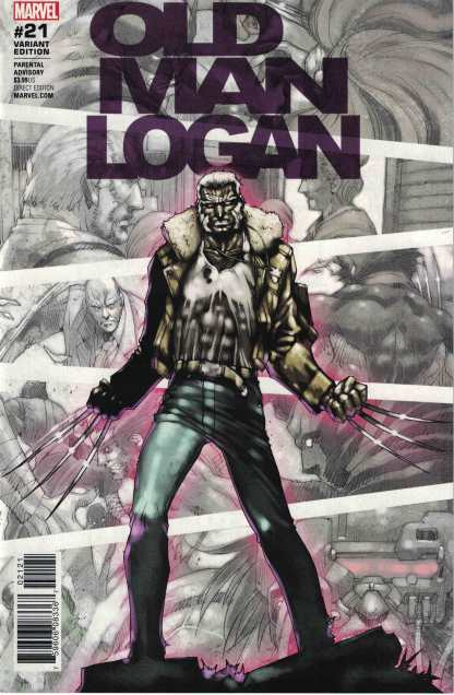 Old Man Logan #21 1:25 Kia Asamiya Variant Marvel 2015