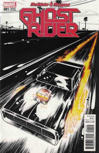 Ghost Rider #1 Retailer Incentive Beyruth Variant Marvel 2016 Robbie Reyes