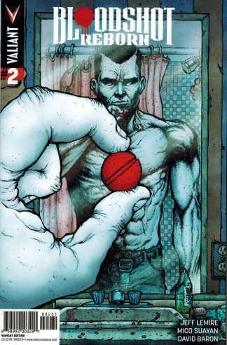 Bloodshot Reborn #2 1:20 Ryan Lee Variant Valiant NEXT