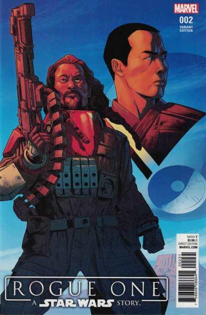 Rogue One Adaptation #2 1:25 Kris Anka Marvel 2017 Star Wars