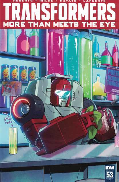 Transformers More Than Meets the Eye #53 1:10 Retailer Incentive Variant RI IDW