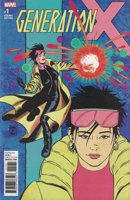 Generation X #1 1:15 June Brigman Variant Marvel 2017 Jubilee