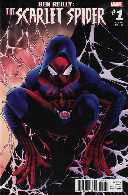 Ben Reilly Scarlet Spider #1 1:25 Land Variant Marvel 2017