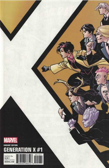 Generation X #1 1:10 Kirk Corner Box Variant Marvel 2017
