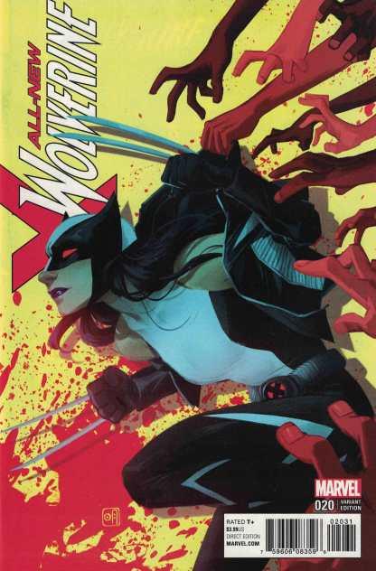 All New Wolverine #20 1:25 Helen Chen Variant Marvel 2015 X-23