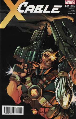 Cable #1 1:50 Adam Kubert Variant Marvel 2017 X-Men