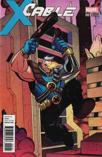 Cable #1 1:15 Bill Martin Variant Marvel 2017