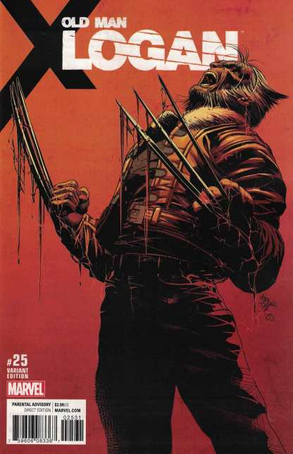 Old Man Logan #25 1:25 Mike Deodato Variant Marvel 2015