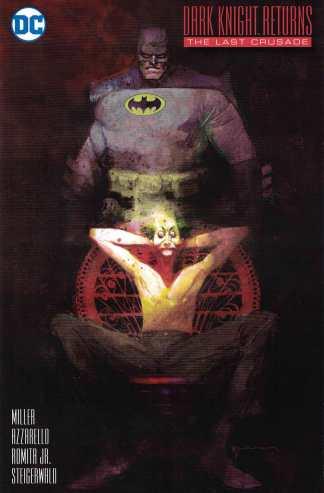 Dark Knight Returns the Last Crusade #1 1:25 Sienkiewicz Variant Batman DC 2016