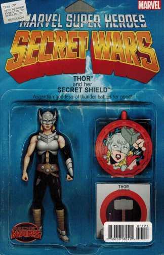 Thors #1 Jane Foster Thor Action Figure Variant Marvel Secret Wars 2015