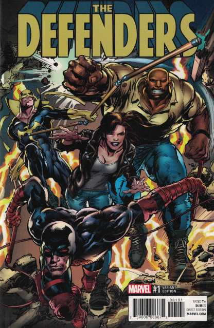 Defenders #1 1:25 Neal Adams Variant Marvel 2017