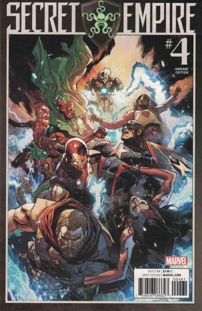 Secret Empire #4 1:25 Leinil Francis Yu Variant Marvel 2017