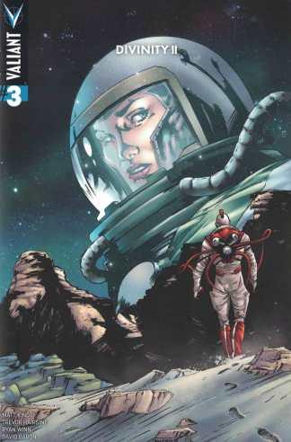 Divinity II #3 1:20 Carnera Variant Cover D Valiant 2016