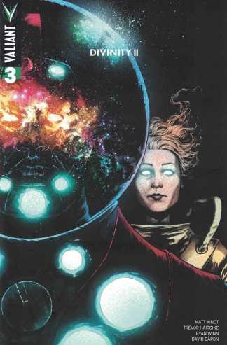 Divinity II #3 1:40 Gorham Variant Cover E Valiant 2016