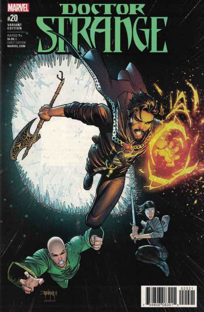 Doctor Strange #20 1:25 Dan Mora Variant Marvel 2016